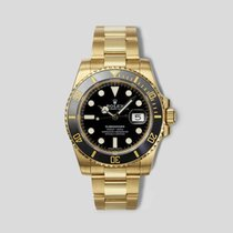 Rolex Submariner Date Yellow gold 40mm Black United States of America, New York, New York