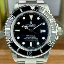 Rolex Sea-Dweller rabljen 40mm Crn Datum, nadnevak Zeljezo
