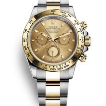 Rolex Daytona Gold/Steel 40mm Champagne No numerals United States of America, New Jersey, Totowa