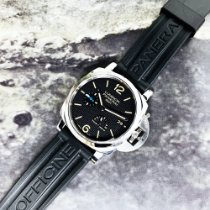 Panerai Luminor 1950 3 Days GMT Power Reserve Automatic Acier 42mm Noir Arabes France, Marseille