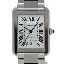 Cartier W5200028 Steel 2015 Tank Solo 40mm pre-owned United States of America, Florida, Miami