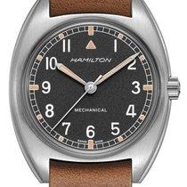 Hamilton Khaki Pilot Pioneer Acero 36mm Negro