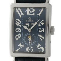 Gevril Steel 34mm Automatic 5034 new