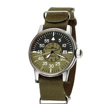 Fortis Flieger Cockpit Automatic Black and Green