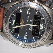 Breitling E76321 Titanium Emergency 43mm pre-owned United States of America, New York, Greenvale
