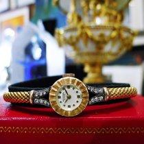 Universal Genève 18k Rose Gold Diamond Manual Wind Watch