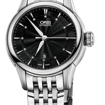 Oris Artelier Date Steel 31mm Black United States of America, New York, Airmont