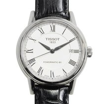 Tissot T-classic Stainless Steel White Automatic T085.407.16.0...