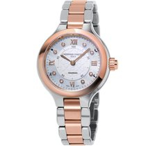 Frederique Constant Horological Smartwatch FC-281WHD3ER2B New Gold/Steel 34mm Quartz