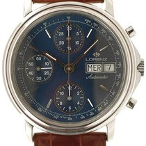 Lorenz Chronograph 38mm Automatic pre-owned Blue