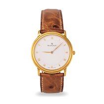 Blancpain Villeret Ultra-Slim pre-owned 33.5mm Yellow gold