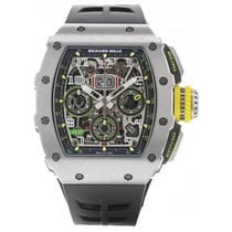 Richard Mille Titane 45mm Remontage automatique RM 11-03 TI occasion
