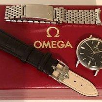 Omega Seamaster De Ville Black crosshair Don Draper mens watch