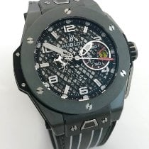Hublot Big Bang Ferrari 401.FX.1123.VR Sehr gut Keramik 45mm Automatik
