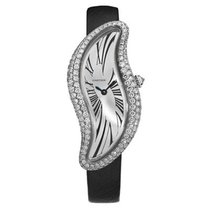 Cartier Crash pre-owned 23mm White gold