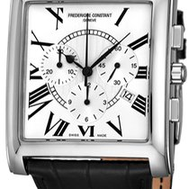 Frederique Constant Classics Carree Steel 38.5mm Silver United States of America, New York, Brooklyn