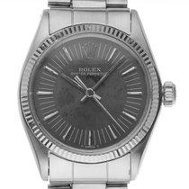 Rolex Oyster Perpetual 31 gebraucht 31mm Grau Stahl