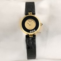 9aaee3238 Chopard Happy Diamonds pre-owned 21mm Leather