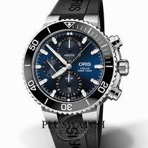 Oris Aquis Chronograph Steel 45,50mm Blue