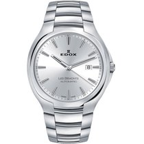Edox Silver Silver 42mm new Les Bémonts