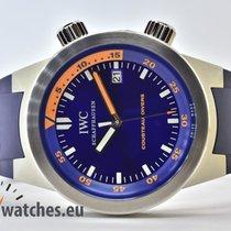 IWC Aquatimer Automatic Otel 42mm Albastru Fara cifre