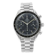 Omega Speedmaster Reduced Steel 41mm Black United States of America, New York, New York