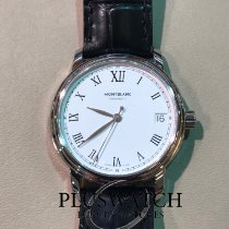 Montblanc Steel Automatic White Roman numerals 32mm new Tradition
