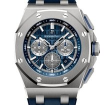 Audemars Piguet Royal Oak Offshore Chronograph Titan 42mm Blau