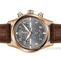 IWC Pilot Spitfire Perpetual Calendar Digital Date-Month Rose gold 46mm Grey Arabic numerals United States of America, Florida, Aventura