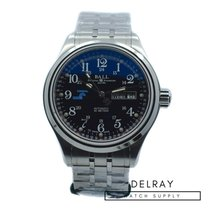 Ball Trainmaster Cleveland Express new Automatic Watch with original box and original papers NM1058D-S10J-BK