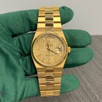 Rolex Day-Date Oysterquartz Yellow gold 36mm Champagne No numerals United States of America, New York, New York