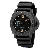 Panerai Luminor Submersible 1950 3 Days Automatic Carbon 47mm Black Arabic numerals United States of America, Georgia, Alpharetta