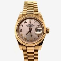 Rolex 179175 Or rose 2002 Lady-Datejust 28mm occasion