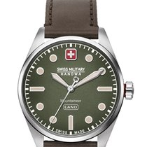 Swiss Military Acero 42mm Cuarzo 06-4345.7.04.006 nuevo
