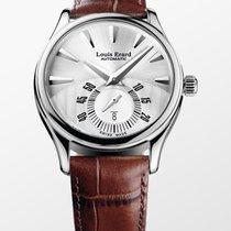 Louis Erard Les Asymétriques Steel 40mm Silver No numerals