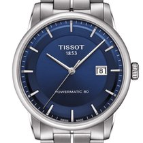 Tissot Luxury Automatic Gent Stainless Steel Blue Dial T