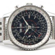 Breitling Montbrilliant Datora A21330 Chronograph Black Dial...