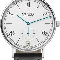 NOMOS Ludwig Automatik Steel 40mm White United States of America, New York, Airmont