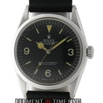 Rolex Explorer I Patina Black Dial 36mm Circa 1970 Caliber...