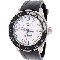 IWC Aquatimer White Dial Luminescent Bezel 44MM Automatic...