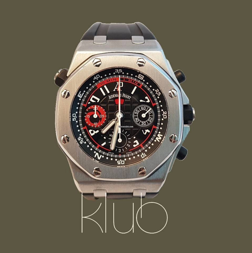 Audemars piguet royal oak offshore alinghi polaris limited for 17 384 for sale from a for Royal oak offshore n7243