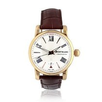 Montblanc Yellow gold Automatic White Roman numerals 41,5mm pre-owned Star 4810