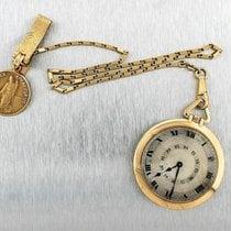 까르띠에 손목 시계 중고시계 옐로우골드 44mm 로마숫자 수동감기 시계만 있음