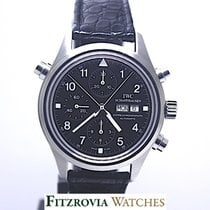 IWC Pilot Double Chronograph tweedehands Staal