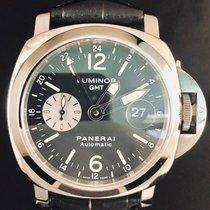 Panerai 44mm Remontage automatique 2006 occasion Luminor GMT Automatic Noir