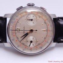 Doxa 1940s Vintage 2 Register Chronograph Steel Wind Up...