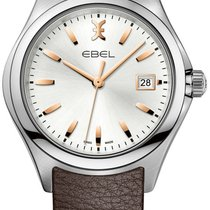 Ebel Wave Steel 40mm Silver No numerals United States of America, New York, New York