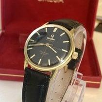 Omega Seamaster De Ville black dial crosshair Automatic + Box