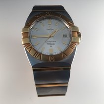 Omega Goud/Staal 40mm Quartz 59982078 tweedehands