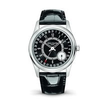 Patek Philippe Calatrava White Gold Black Dial 39mm
